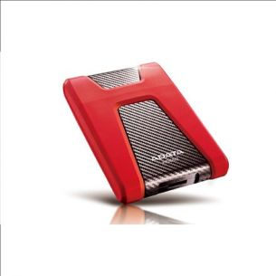 "ADATA DashDrive Durable HD650 1000 GB, 2.5 "", USB 3.0, punane"