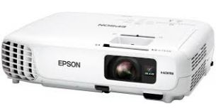 Epson EB-W18 3LCD / 3000Lm / WXGA 1280x800, 16:10 / 10.000:1 / Lamp 6000h (eco)/ Projection Ratio 1.30 - 1.56:1/ 1.2x optical zoom/ USB, HDMI, D-Sub, VGA in/out, Composite in/ Speakers 1x2W/ 2.4kg/ White